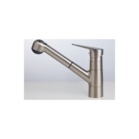 Delta Satin Nickel Kitchen Faucet Pull Out Spray