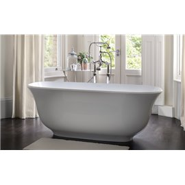"Victoria + Albert AMTM-N Amiata 65"" Freestanding Bathtub"