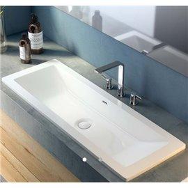 Victoria + Albert DU-ROS-107 Rossendale 107 Undermount or Drop-in Lavatory Sink