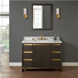 "Fairmont Designs Ambassador 48"" Vanity - Burnt Chocolate"
