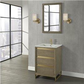 "Fairmont Designs Ambassador 24"" Vanity - Antique Grey"