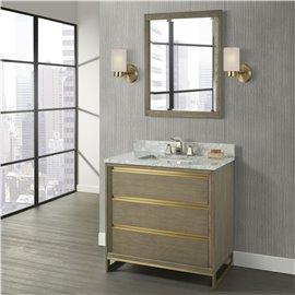 "Fairmont Designs Ambassador 36"" Vanity - Antique Grey"