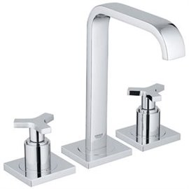 Grohe 20148 Allure 2Hdl Basin 3-H L-Size Us