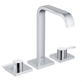 Grohe 20191 Allure 2Hdl Basin 3-H L-Size