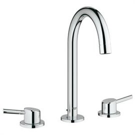 Grohe 20217 Concetto 2Hdl Basin 3-H L-Size Us