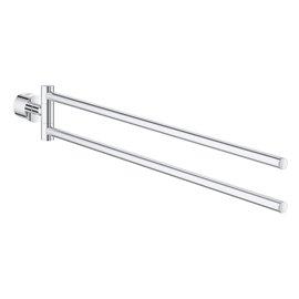 Grohe 40308 Atrio New Double Towel Bar - Chrome