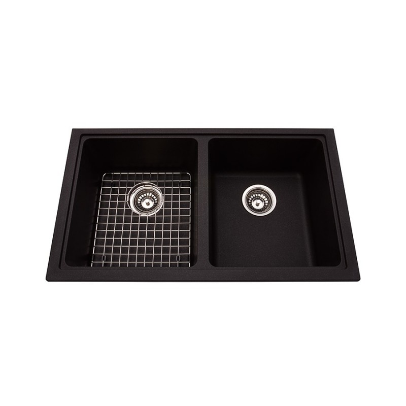 Buy Kindred Kgd1u Granite Undermount Double Sink Includes