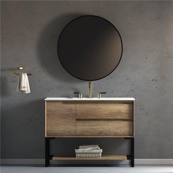 Virta 48 Inch Ashley Floor Mount Single Sink Vanity